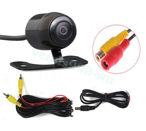 Waterproof 170 CCD Car Rear View Backup Reverse Parking Camera IR Night Vision