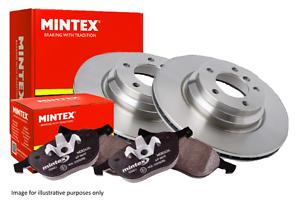 FREE MINTEX GREASE VOLVO V70 MINTEX FRONT BRAKE DISCS AND PADS 2000-305mm