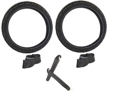 "2 PACK 16"" BACK TIRES + TUBES BOB REVOLUTION FLEX/PRO/SE ..."
