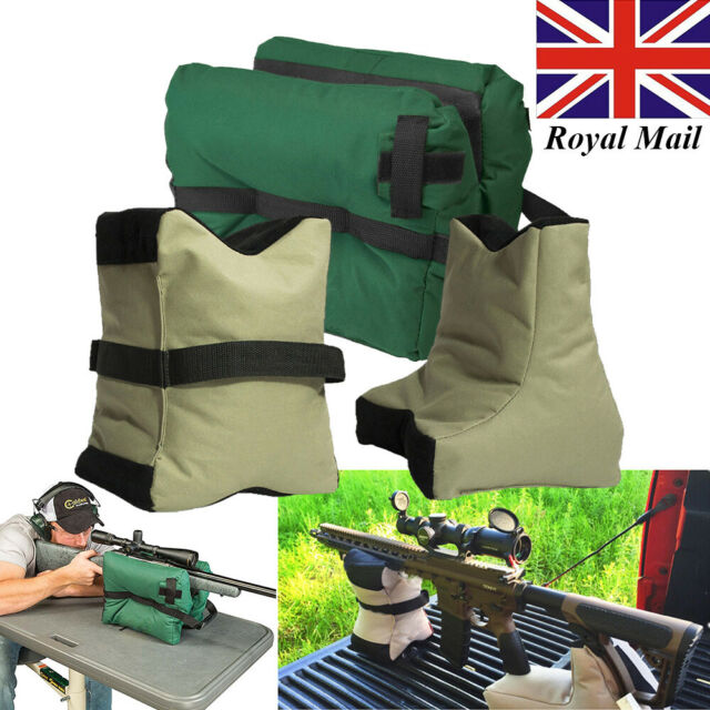 Super 3Pcs Shooting Bench Gun Front Rear Rest Bag Sandbag Sniper Stand Support Hunting Creativecarmelina Interior Chair Design Creativecarmelinacom