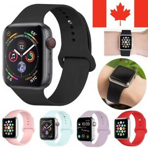 Replacement Silicone Sport Band Loop Strap For Apple Watch Series 6 SE 5 4 3 2 1