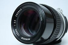 Nikon Nikkor 135mm f/3.5 Ai Lens with filter from Japan Near Mint!!!