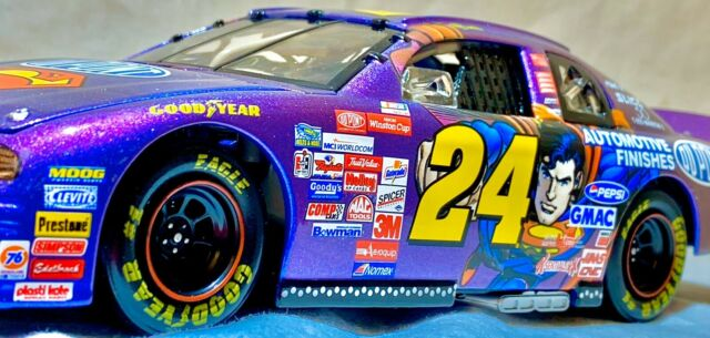 1999 Action 1:24 Diecast NASCAR Jeff Gordon DuPont Superman Monte Carlo #24