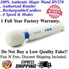100% Authentic Cordless Hitachi Magic Wand Rechargeable Vibratex HV270 Fast Ship