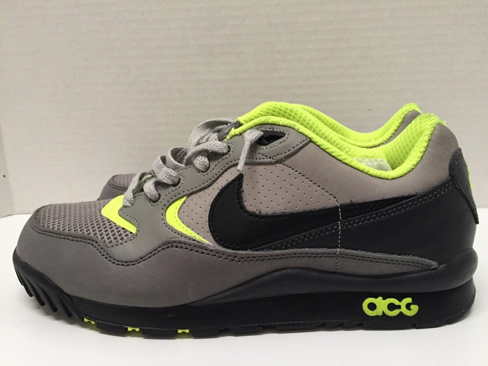 Nuove nike air wildwood casual traccia le uomini 8 scarpe 377757 002 sz 8 uomini neri. d1f93a
