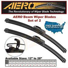 "AERO 24"" + 18"" OEM Quality Beam Windshield Wiper Blades (Set of 2)"