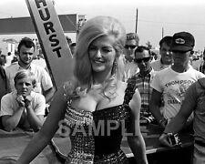 Model Linda Vaughn Miss Hurst Golden Shifter Drag Racing 8 x 10 Poster Photo 225
