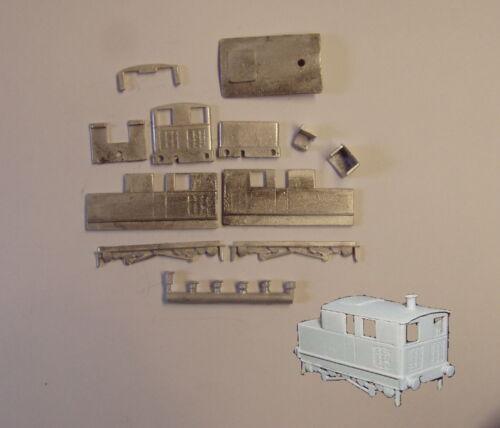 P/&D Marsh N Gauge N Scale A151 Sentinel Shunter loco kit requires painting