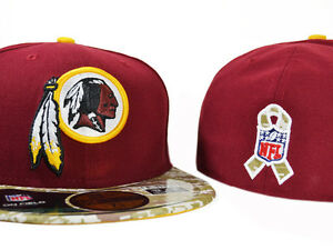Image is loading Washington-Redskins-SALUTE-TO-SERVICE-FITTED-59Fifty-New- 0df1983a7