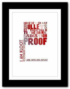 I-Am-Kloot-Glastonbury-SETLIST-typography-art-poster-print-A1-A2-A3-A4