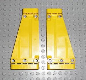 LEGO® Technic Paneel Paneele Panel Winkel schräg gelb 4Stk 5x11 #18945 *NEU*NEW