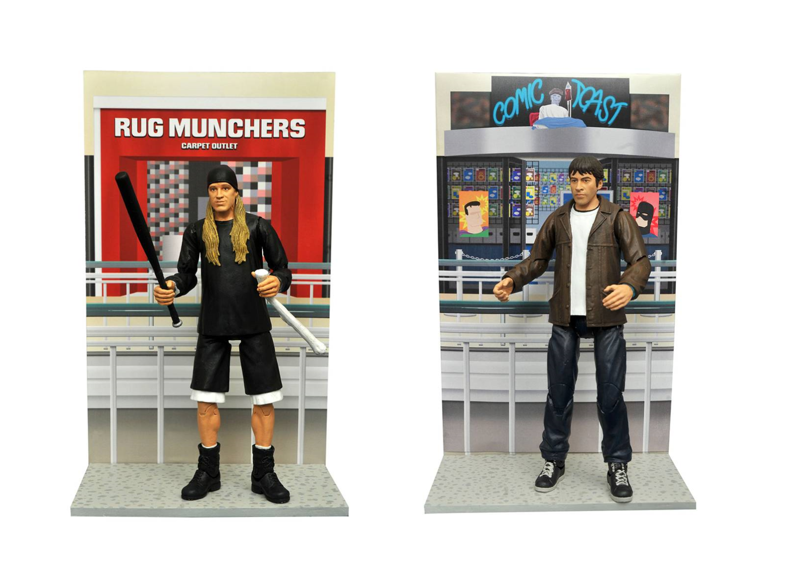 Diamond Select JAY & BRODY Mallrats 2 Figure Set MIB Kevin Smith