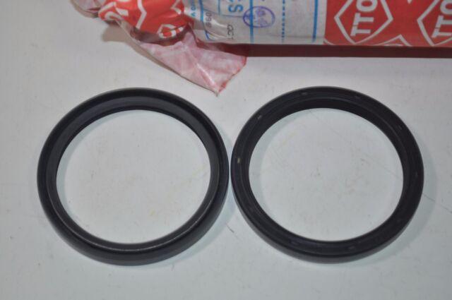 Lot of 2 Clark Double Lip Shaft Oil Seal TC 46mm x 68mm x 8mm 46 68 8 PN 30-6803