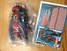 Transformers Botcon 2015 Waruder Waruders Red Blue Storm Rider and Crusher