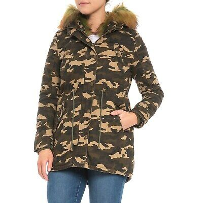 Boundless North Furry Parka, Camo- 3 In 1 Insulated Size S~ Nwt Dependable Performance