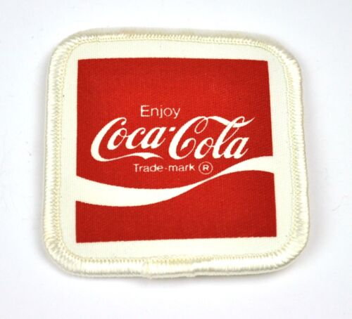 Coca-Cola Coke USA Bügelflicken Aufnäher Emblem Uniform Patch Wave Logo