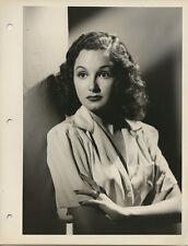 ELLA NEAL Striking Vintage Original Casting Agent Portrait Photo Silver Gelatin