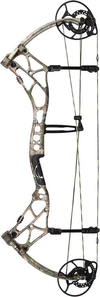 Nuevo 2016 Bear Archery arena Arco Compuesto 30 60  mano derecha Xtra verde Camuflaje