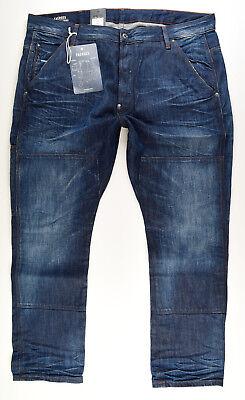 G-STAR ARC-Z 3D SLIM Men's W36//L36 Stretch Cotton Button Fly Jeans #0146*