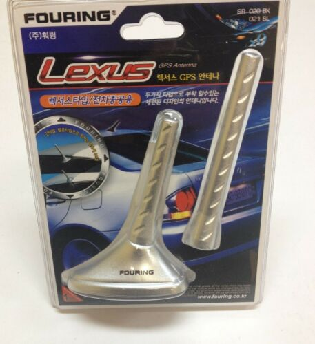"4/"" AND 6/"" SHORT ANTENNA  MAST LEXUS GPS AERIAL DECORATIVE DUMMY ANT-SR020//21"
