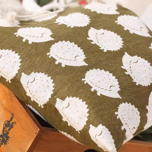 Travel Cotton Linen Drawstring Clothes Home Organizer Storage Bag