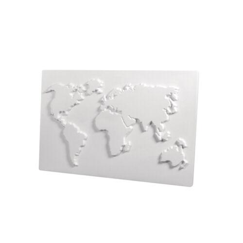 Gießform Weltkarte DinA4 aus Kunststoff für Beton Gießmassen ua Rayher 36098