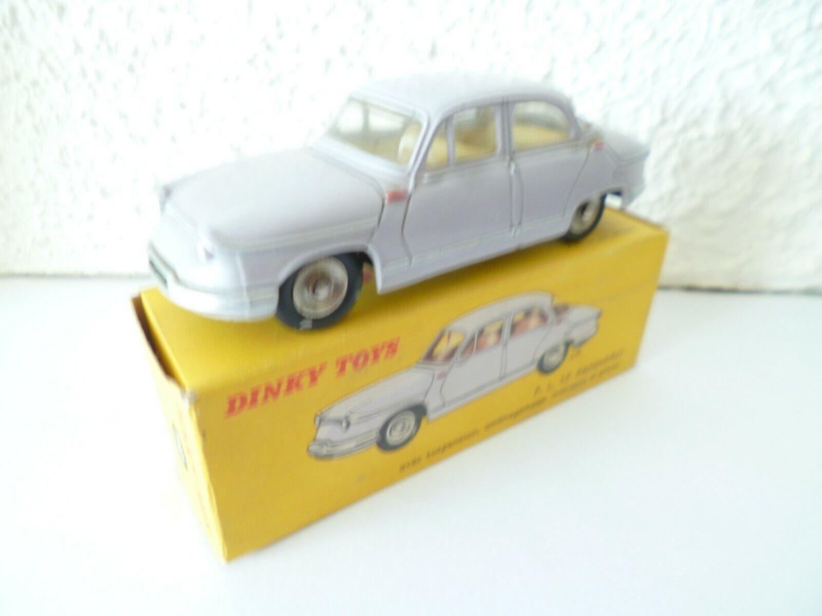 Panhard PL17 avec sa boite véritable Dinky Toys en bel état