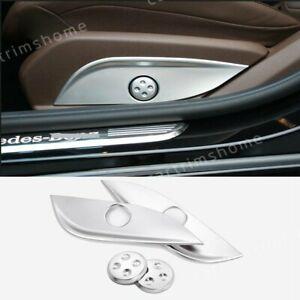 Car Seat Adjust Button Cover Panel Trim For Mercedes Benz C Class W205 GLC X253
