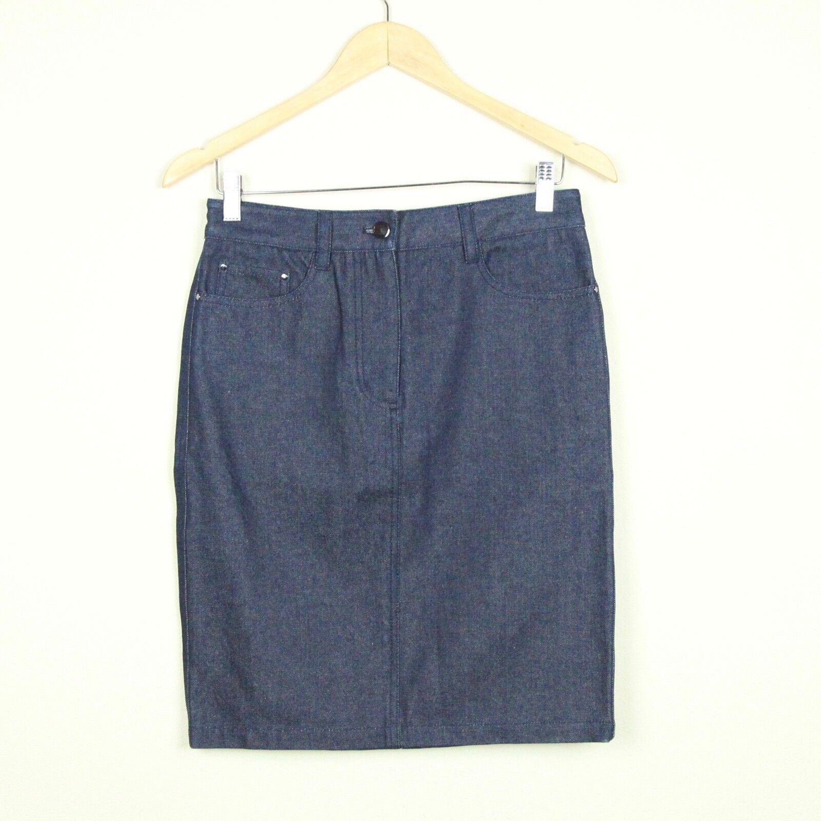 3.1 Philip Lim Dark Wash Denim Pencil Skirt 4 Jean Straight