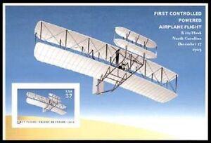 3783b Powered Flight Top Pane of 1 Kitty Hawk 2003 Brookman Retail Value $5.00