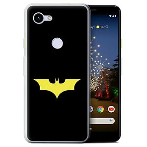 Gel-TPU-Case-for-Google-Pixel-3a-Minimalist-Movie-Art-Bat-Signal-Inspired
