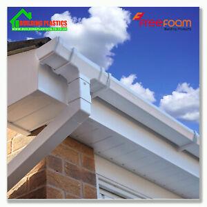 Upvc Fascia Board Cover 150mm To 300mm Fascia Capping White 10mm Thick 2 X 2 5m Ebay