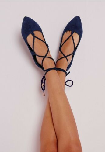 Old Navy Ghillie Snake Print Blue Yellow Black Lace Up Pointed Pumps NWT