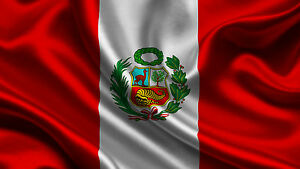 bandiera perù national flag of perù ebay