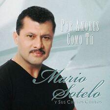Por Amores Como Tu by Mario Sotelo (CD, May-2000, Sony Music Distribution (USA))