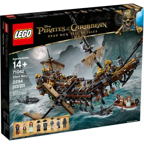 LEGO Fluch der Karibik 71042 Silent Mary Jack m Sparrow Käptn Salazar Neu OVP