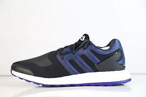 ee1a9bead7133 Details about Adidas Y-3 Yohji Yamamoto Pureboost Core Black Iris Amazon  BY8956 8-10 boost nmd