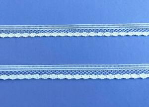 Lace-Trim-Tiny-1-4-034-10yds-Delicate-Sewing-Doll-Clothes-Vintage-Off-White-Lot-99w