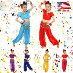 1c36074709d6 Image is loading Children-Kids-Girl-Egypt-Dance-Costumes-Belly-Dancing-