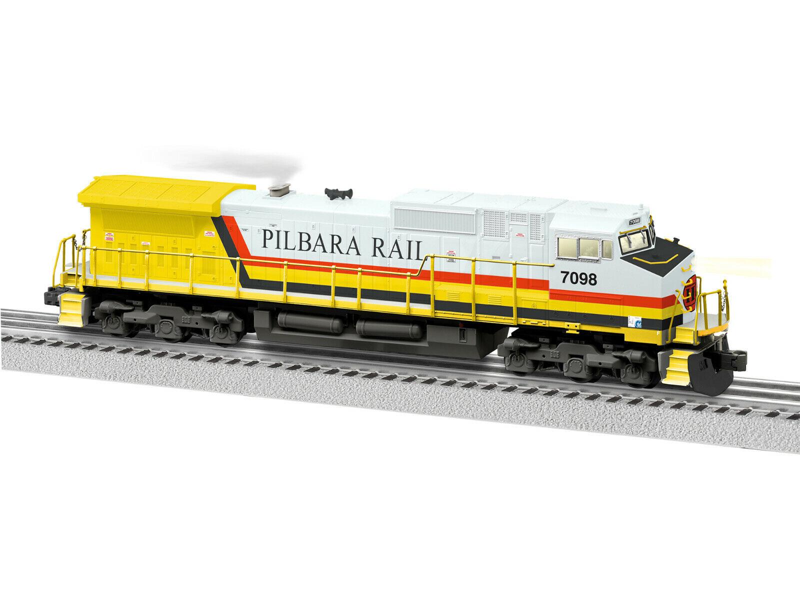 Lionel Pilbara Rail Legacy C44-9W utan motor
