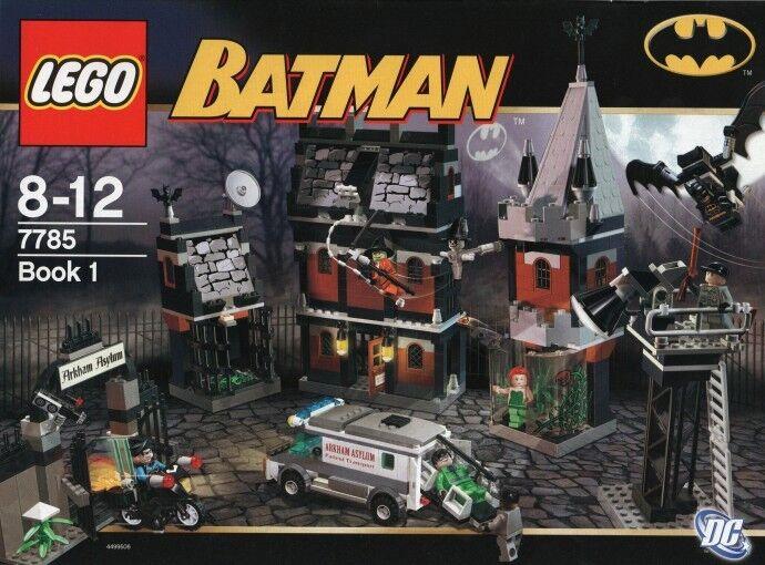 Lego Bathomme  7785 Arkham Asylum  nouveau SEALED  Réponses rapides