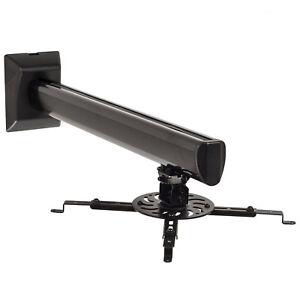 universal projektor beamer halterung wandhalterung drehbar neigbar halter wand ebay. Black Bedroom Furniture Sets. Home Design Ideas