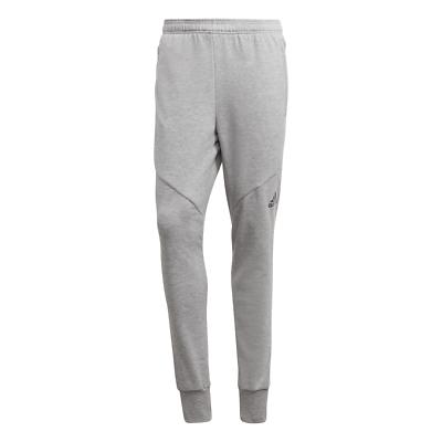 Adidas Essentials Prime Workout Pantaloni Grigio Climalite Palestra Sportivi