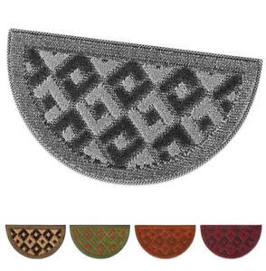Zerbino tappeto asciugapassi semiluna 40x70 gommato antiscivolo mod.GOLD 11