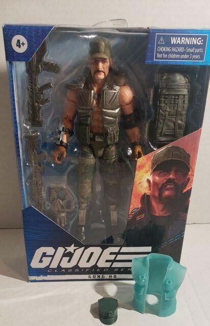 "GUNG HO G.I. Joe Classified Series 6"" Hasbro with custom Hat and Vest"