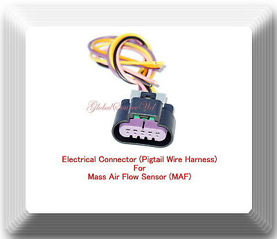GM Electrical Connector Pigtail Wire Harness For Mass Air Flow MAS0219  Fits
