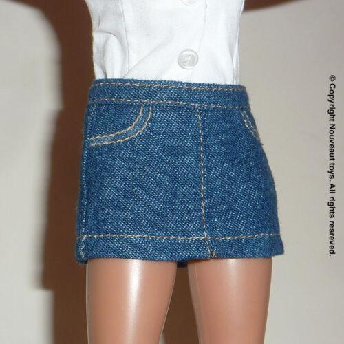 1//6 Scale Phicen Hot Toys Female Denim Short Skirt Nouveau Toys TBLeauge