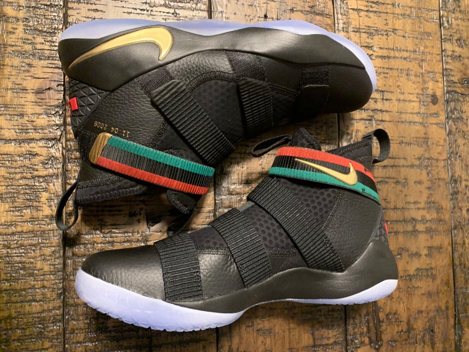 Nike Lebron James Soldier XI Promo BHM AQ9578 001 SZ 13 NO BOX TOP