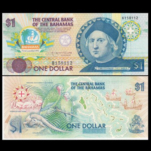 Bahamas 1 Dollar 1992 UNC ND P-50