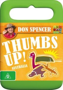 Don-Spencer-Thumbs-Up-Australia-DVD-Region-4-VERY-RARE-OUT-OF-PRINT